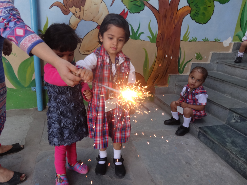 sparkling diwali celebrations